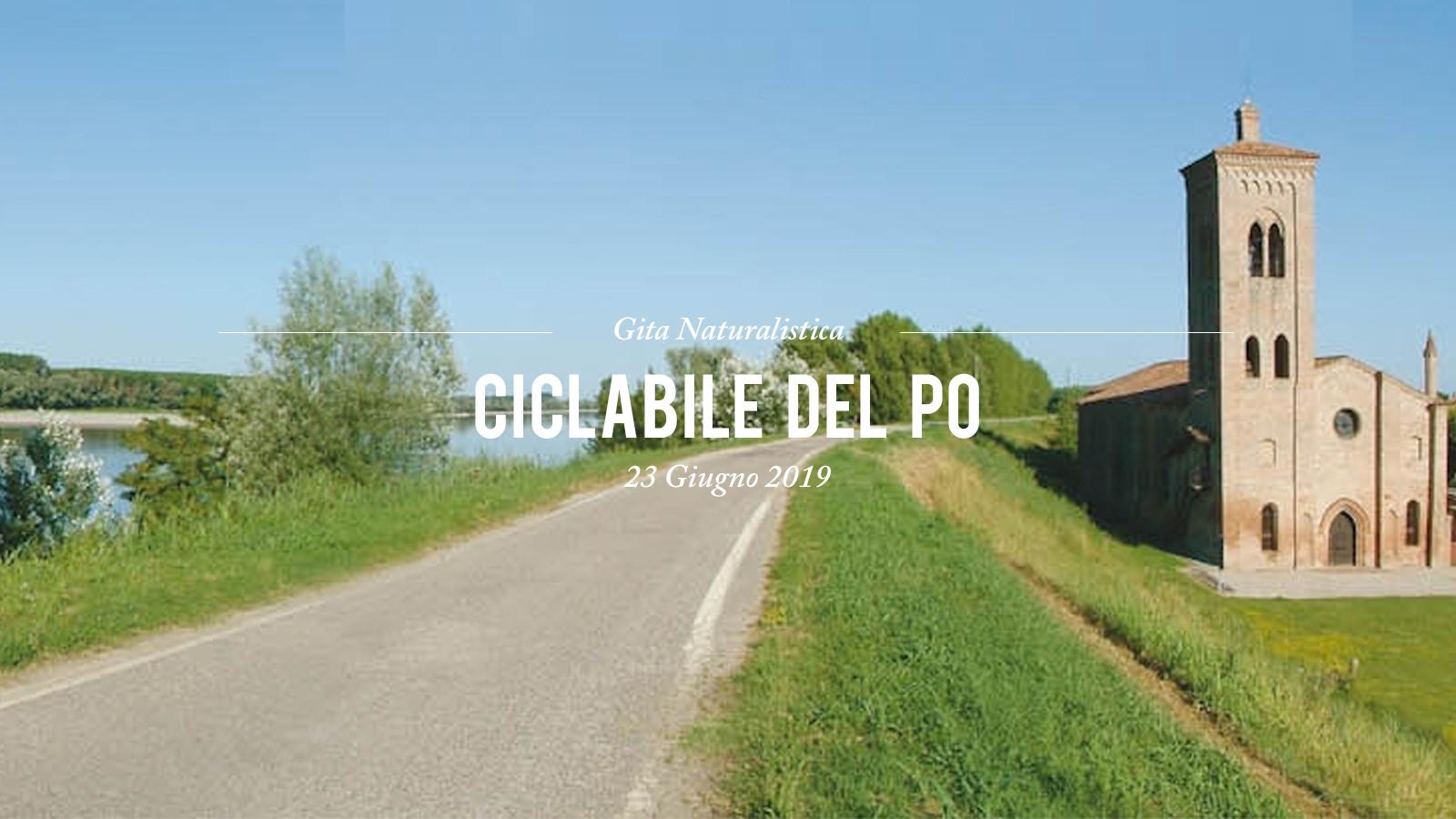 Ciclabile del Po 2019
